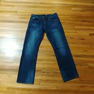 David Bitton straight stretch jeans